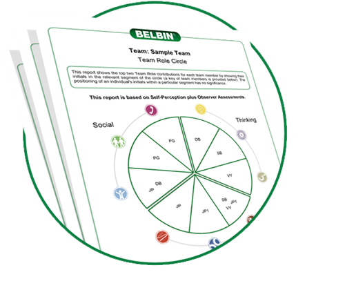 Belbin Team Report can be used to help with new teams, existing teams or cross-functional teams. Great at starting team conversations and creating high performing teams.